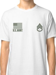 Staff Sergeant Infantry US Army Rank by Mision Militar ™ Classic T-Shirt