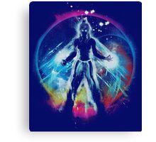 balancing universe Canvas Print