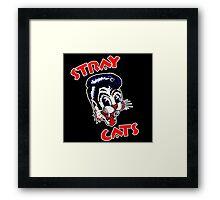 STRAY CATS : ROCKABILLY Framed Print