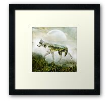 Wolf Mountain Framed Print