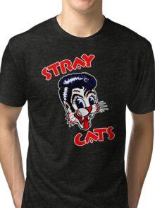 STRAY CATS : ROCKABILLY Tri-blend T-Shirt