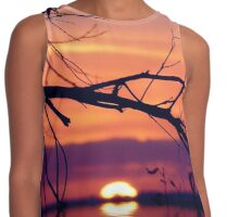 Liquid Sunset Contrast Tank