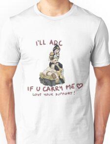 adc e support <3 v.2 Unisex T-Shirt