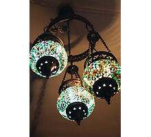 Turkish Lighting Photographic Print