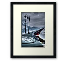 Desoto Tail Fin Framed Print
