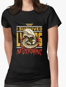 I Survived LV-426 Womens Fitted T-Shirt