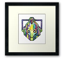 Galaxy Cyberman Framed Print