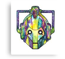 Galaxy Cyberman Canvas Print