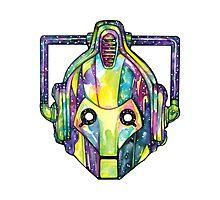 Galaxy Cyberman Photographic Print