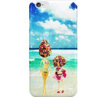 rainbow sprinkles surreal ice cream sisters iPhone Case/Skin