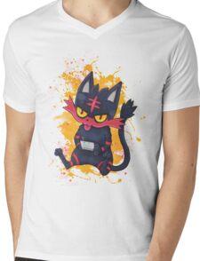 Gammer Litten Mens V-Neck T-Shirt