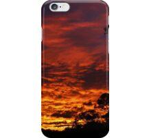 Sunset Spectacular 31st July 2007 iPhone Case/Skin