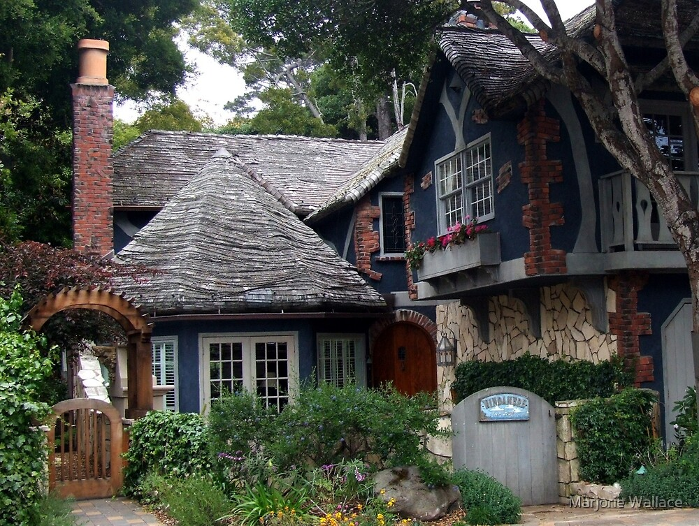 Dream Cottage in Carmel-by-the-sea by Marjorie Wallace