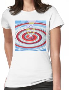 The Living Light- Light and love to All- Art + Products Design  Womens Fitted T-Shirt