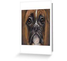 Boxer Mush Greeting Card