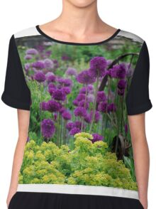 Glorious colours of Spring Chiffon Top