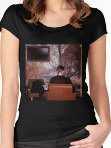fugazi furniture ep Women's Fitted Scoop T-Shirt