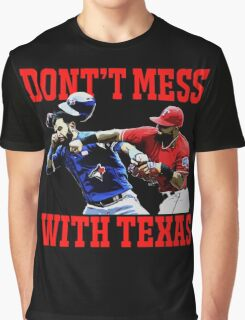 Dont't Mess With Texas  Graphic T-Shirt
