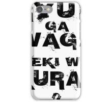 Ryuu ga waga teki wo kurau! iPhone Case/Skin