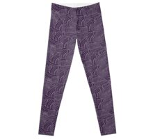 mass effect tali pattern Leggings