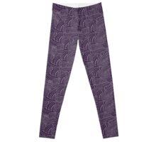 mass effect tali pattern Leggings
