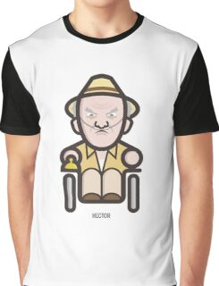 Breaking Bad Icon Set - HECTOR SALAMANCA Graphic T-Shirt