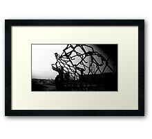Boundaries Framed Print