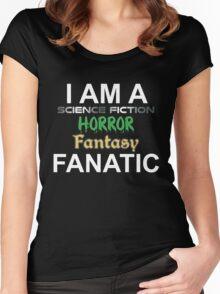 Genre Fan Women's Fitted Scoop T-Shirt