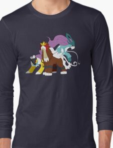 Pokemon - Legendary Beasts Long Sleeve T-Shirt