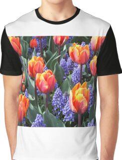 Princess Irene Tulips ~ Skagit Valley Graphic T-Shirt
