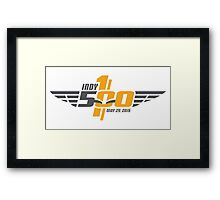 the racing capital of the world, race day, indianapolis, 500, 100th, racing, may 29 2016, indy 500, carb day, legend day, indiana, brickyard, america, usa, motor, sport, speedway. Framed Print