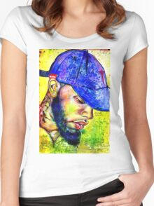 Tory Lanez Women's Fitted Scoop T-Shirt