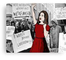 'Feminist pioneer'  Canvas Print