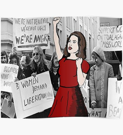 'Feminist pioneer'  Poster