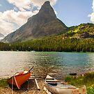 Swiftcurrent Lake by Caleb Ward