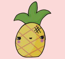 Kawaii Cute Pineapple Tropical Kids Tee