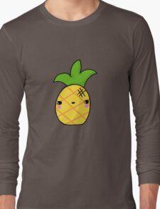 Kawaii Cute Pineapple Tropical Long Sleeve T-Shirt