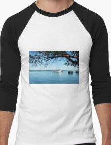 Anacortes ~ San Juan Island Ferry Men's Baseball ¾ T-Shirt