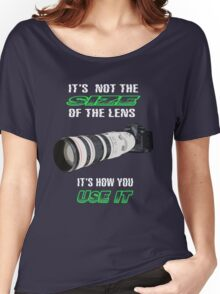 Size of the lens Women's Relaxed Fit T-Shirt