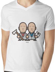 Breaking Bad Icon Set - MARCO&LIONEL Mens V-Neck T-Shirt