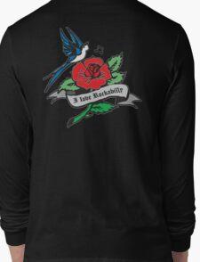 Rockabilly Red Hot Retro Tattoo  Long Sleeve T-Shirt