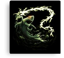 """""""Sharky Prime"""" summoned by Mordecai Canvas Print"""