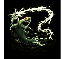 """""""Sharky Prime"""" summoned by Mordecai Photographic Print"""