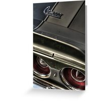 Chevrolet Camaro Greeting Card