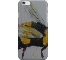 Bumble bee in flight iPhone Case/Skin