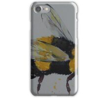 Bumble bee in flight iPhone Case/Skin