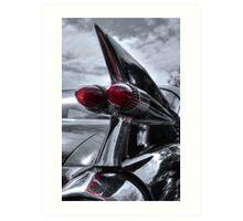 1959 Cadillac Tail Fin Art Print