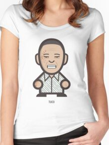 Breaking Bad Icon Set - TUCO Women's Fitted Scoop T-Shirt