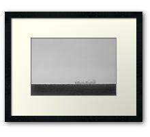 Hull Up Framed Print