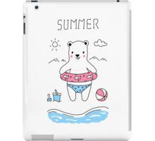 Polar Summer iPad Case/Skin